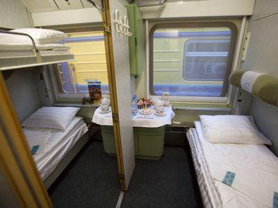 в поезде 023/024 Москва