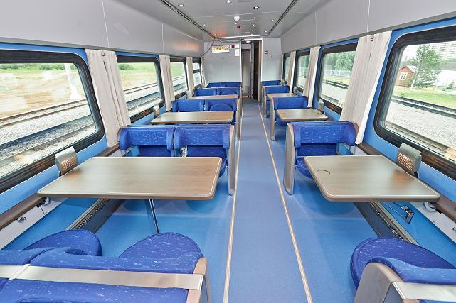 фото поезда стриж внутри